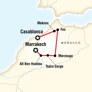Tour Casablanca-Marrakech